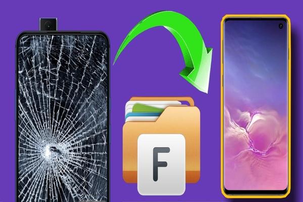 الدليل الكامل لطريقة الوصول و التحكم في الهاتف المكسور الشاشة و استرجاع ملفاتك عليه !