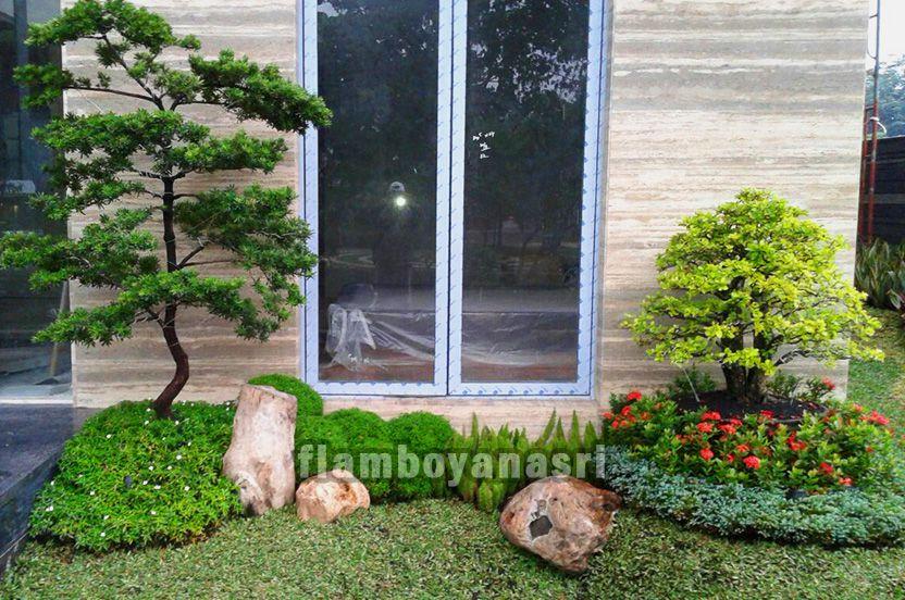 60 Gambar Taman Rumah Jasa Tukang Taman Surabaya
