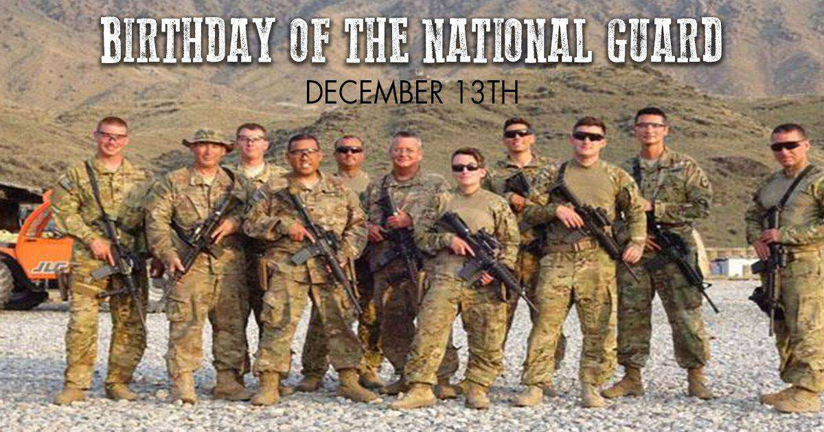 U.S. National Guard Birthday Wishes Photos