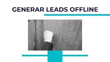 Como capturar leads offline