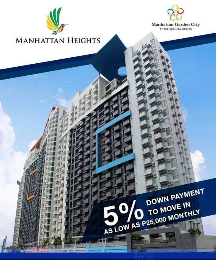 Ready For Occupancy Condo Units For Sale At Manhattan Heights Rent