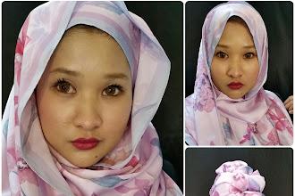 Lady Qomash - Inspirasi Seni Lukisan pada Hijab anda.
