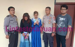 Polsek Banjar Agung Tangkap Dua IRT Pelaku Curat di Pasar Unit 2