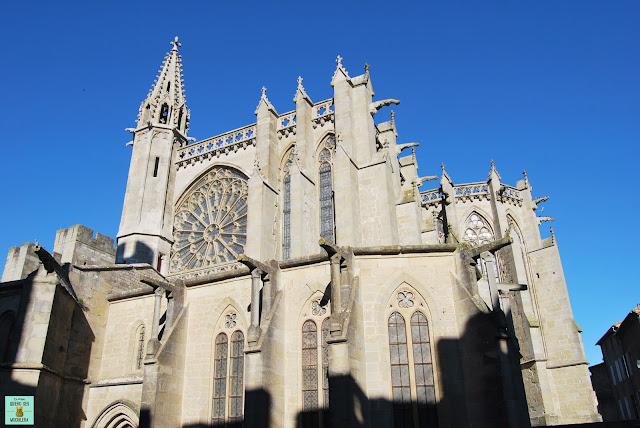 Basílica Saint-Nazaire en Carcassone