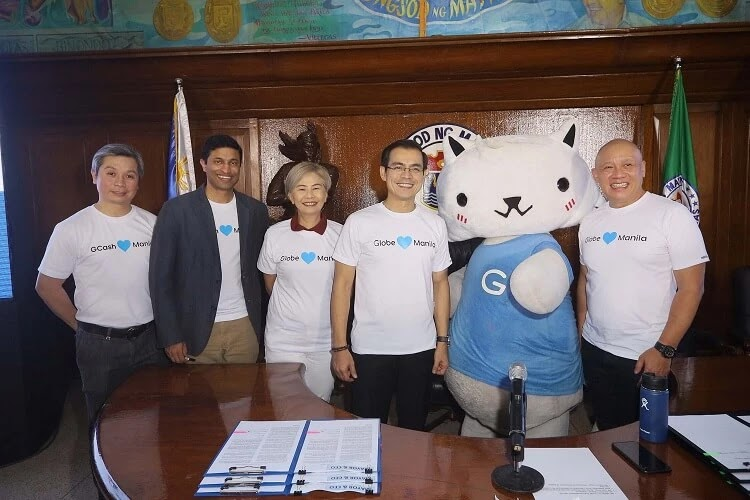 Globe to Provide GoWiFi in Key Areas of Manila, GCash to Empower City's Scholars
