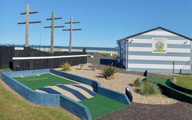 Lofty's Crazy Golf course in Seaton Carew