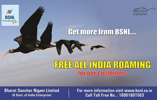 BSNL postpaid mobile customers are allowed to use their voice plan bundled free 3G/2G Data in Home LSA as well as in National Roaming