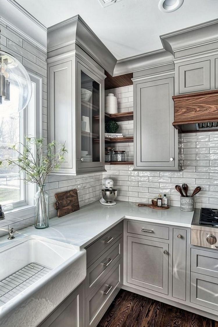 6 Beautiful Light Grey Kitchen Cabinets Ideas Dream House