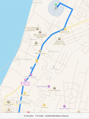 Homestay Ilihan, Iligan City map | traveljams