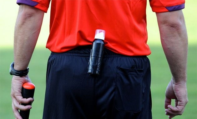 Teknologi Garis Gawang dan Busa Semprot, goal line technology, vanishing spray, world cup 2014
