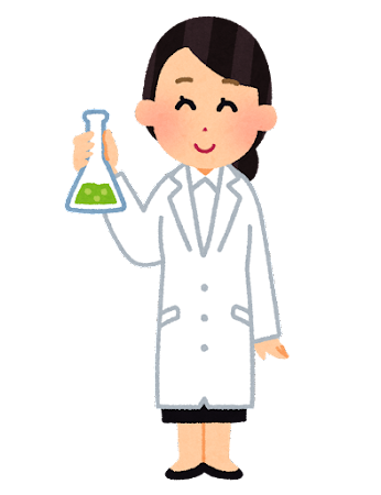 科学者のイラスト(女性)