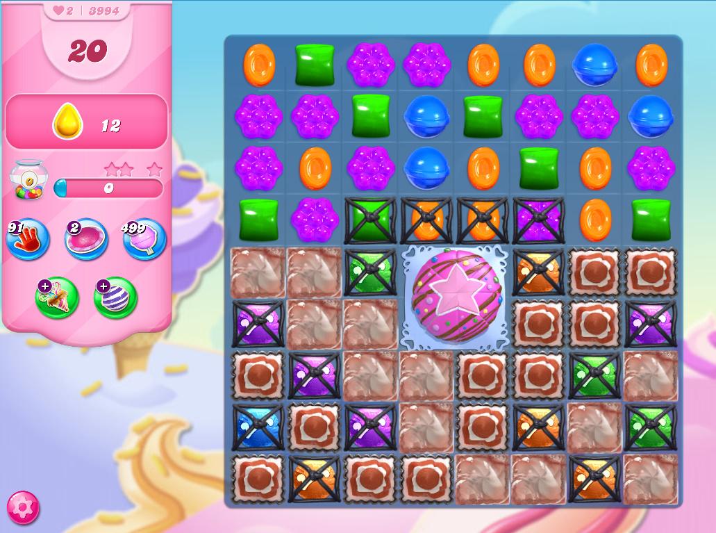 Candy Crush Saga level 3994