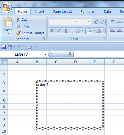 Change the Font Size, Color, and Style of an Excel Form