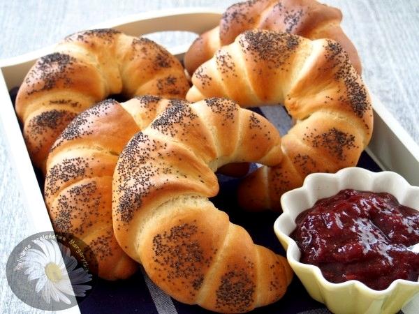 Kulinarne Szalenstwa Margarytki Rogaliki Sniadaniowe