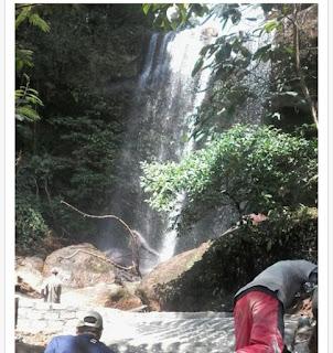 Melirik Keindahan Wisata Air Terjun Curug Tresno Lampung Barat