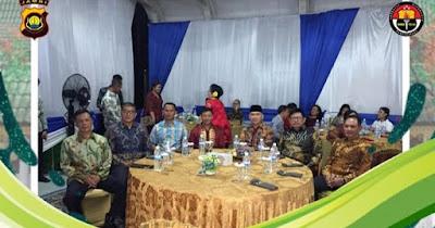 Wakapolda Jambi Hadiri Kegiatan Undangan Acara Perayaan Natal Oikumene Tahun 2019