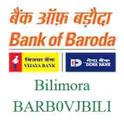 Vijaya Baroda Bank Bilimora Branch New IFSC, MICR