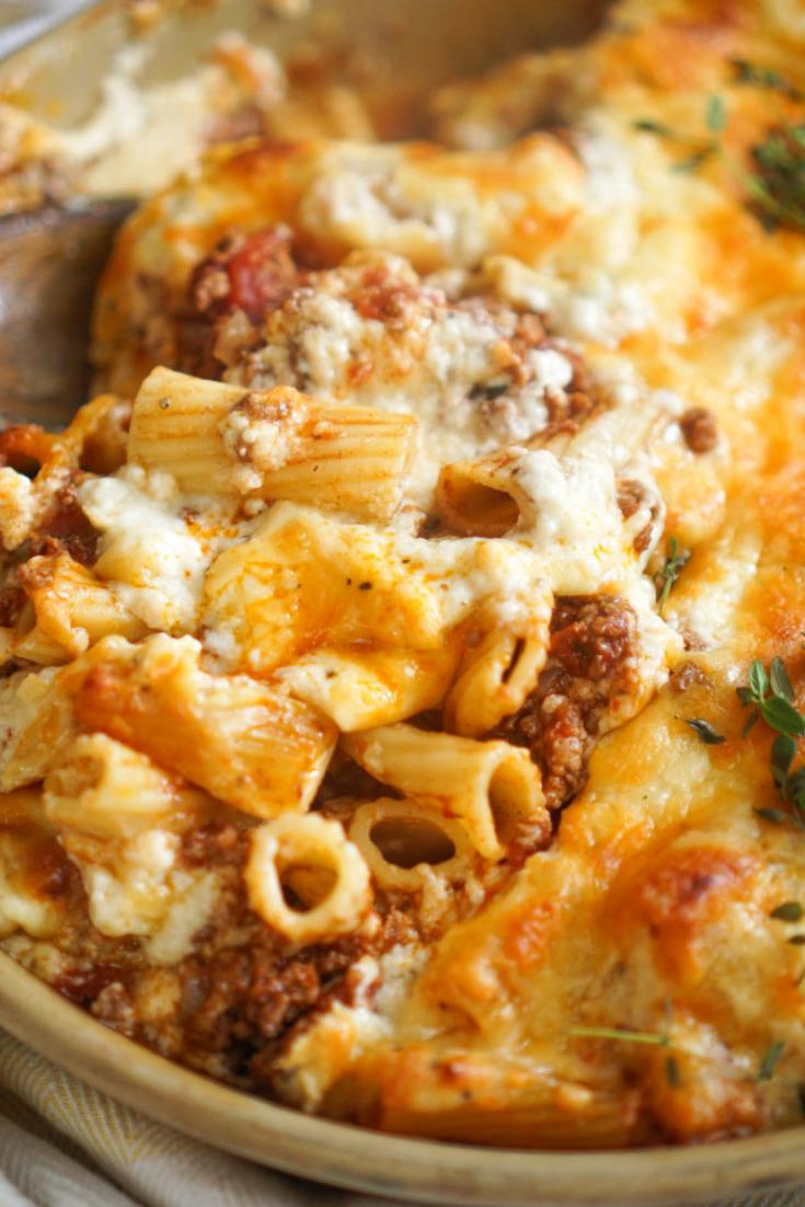 Ina Garten's Pastitsio Pasta Recipe