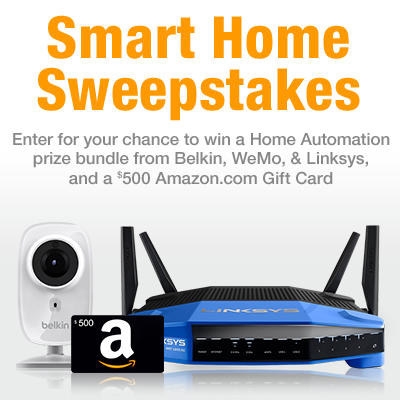 Amazon Smart Home Sweepstakes