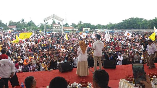 Kampanye Akbar, SEHATI : Terima Kasih Rakyat Sinjai\