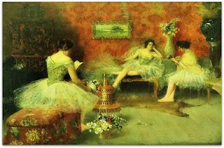 Pedro Weingärtner - Bailarinas (1896)