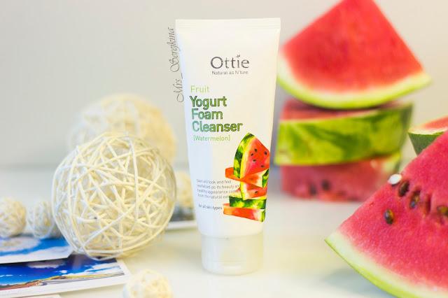 фруктовая йогуртная пенка для умывания Арбуз Ottie
