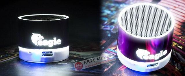 Altavoces Bluetooth personalizados para usar como regalo promocional