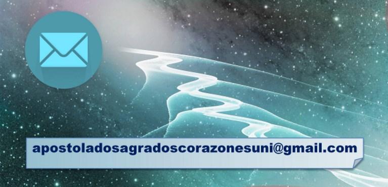 Contacto de Correo Electrónico del Apostolado de los Sagrados Corazones Unidos.