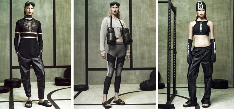 Alexander Wang x H&M Collection, H&M, Alexander Wang, Alexander Wang x H&M Lookbook, Alexander Wang x H&M Preview, Boxing Gloves, Scuba Dress