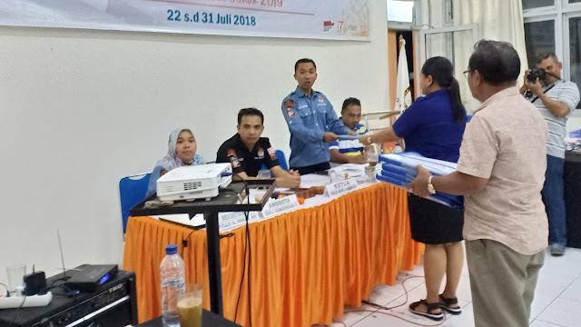 Penerimaan Dokumen Perbaikan Persyaratan Bakal Calon DPRD Kota Bitung