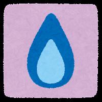 ガスのマーク(背景あり)