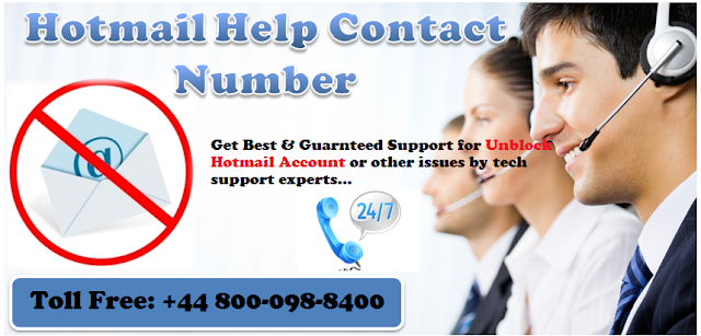 Hotmail help contact number