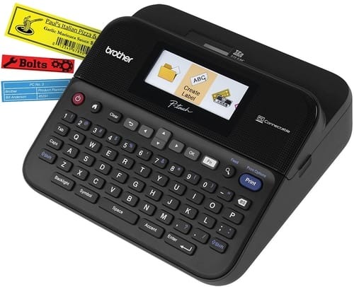 Review Brother PTD600 P-touch PC-Connectable Label Maker