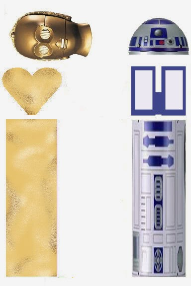 Star Wars: Envoltorios Especiales para Golosinas, para Imprimir Gratis