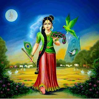 Lord Sarvepali Radha Rani Images