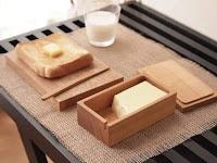 Utensilios y gadgets de cocina hechos de madera
