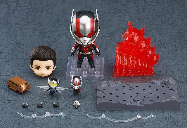 Figuras: Nendoroid de Ant-Man normal y DX de Avenger: Endgame - Good Smile Company