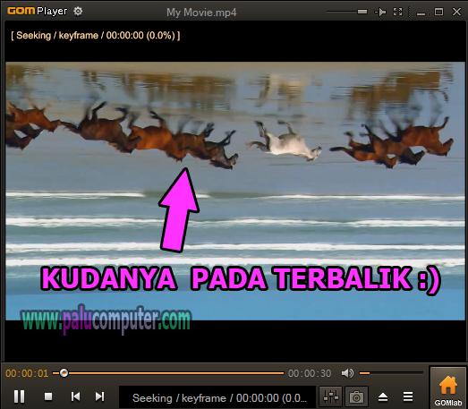contoh video terbalik saat diputar