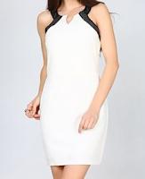 Hesaplı Şık Mezuniyet Balosu Abiyeleri Modelleri beyaz renk