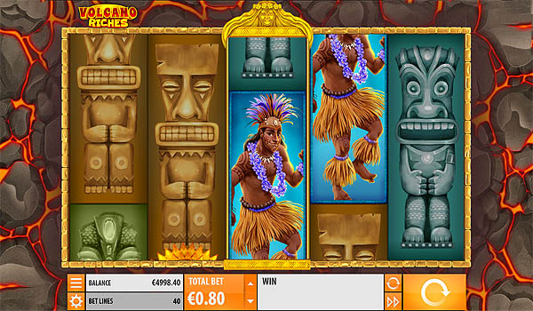 Main Slot Gratis Indonesia - Volcano Riches (Quickspin)