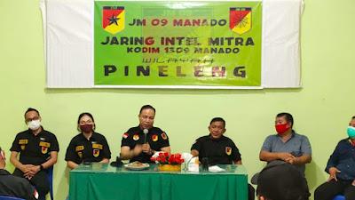 JM 09 Sosialisasikan Pemantauan Situasi Kamtibmas Di Desa Pineleng II