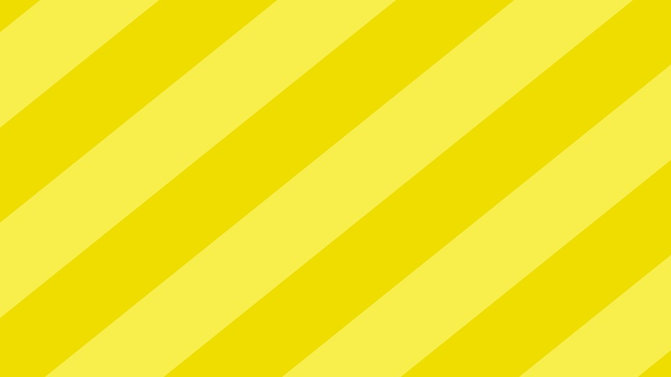 Abstract yellow on white background Free