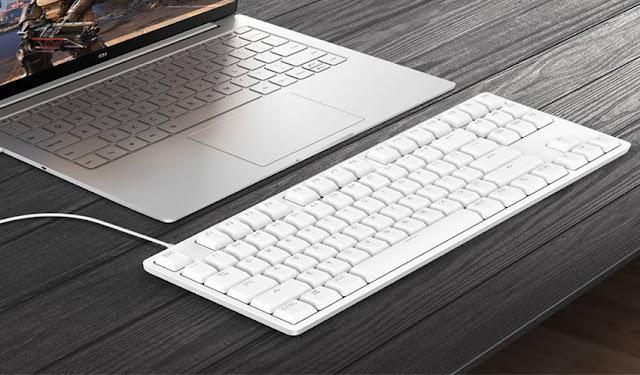 Xiaomi Luncurkan Keyboard Aluminium