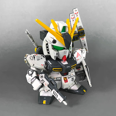 Painted G Generation-F SD BB Senshi RX-93 Nu Gundam