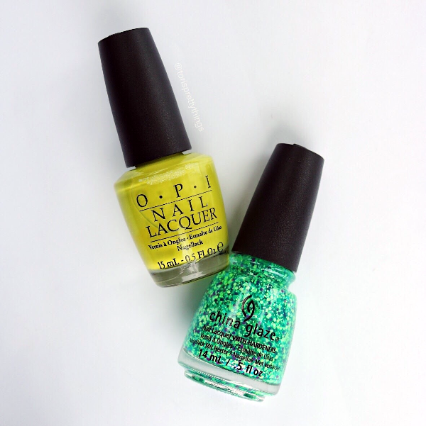 OPI Who The Shrek Are You? - China Glaze Can I Get an Untz Untz - Tori's Pretty Things Blog