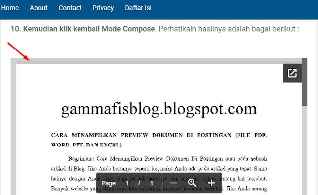 Cara Menampilkan Preview Dokumen Di Postingan (File PDF, Word, PPT, Dan Excel)
