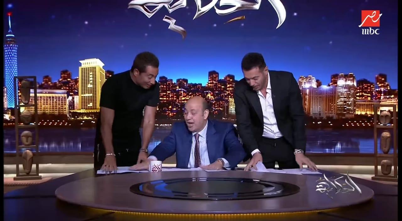 تعرف على تصريحات مصطفى شعبان وعمرو سعد في برنامج الحكاية