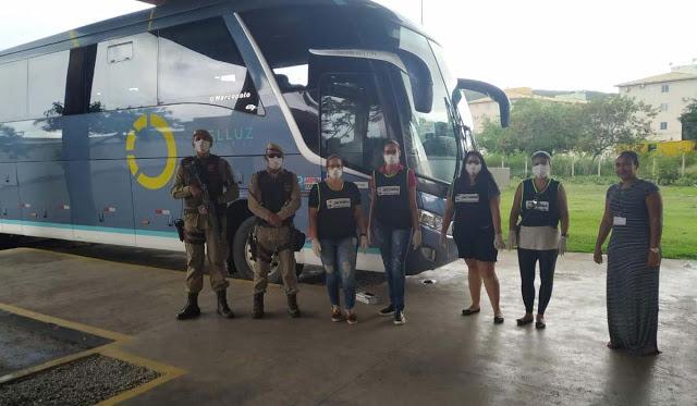 Jacobina: Equipes de saúde da prefeitura estão de plantão no Terminal Rodoviário