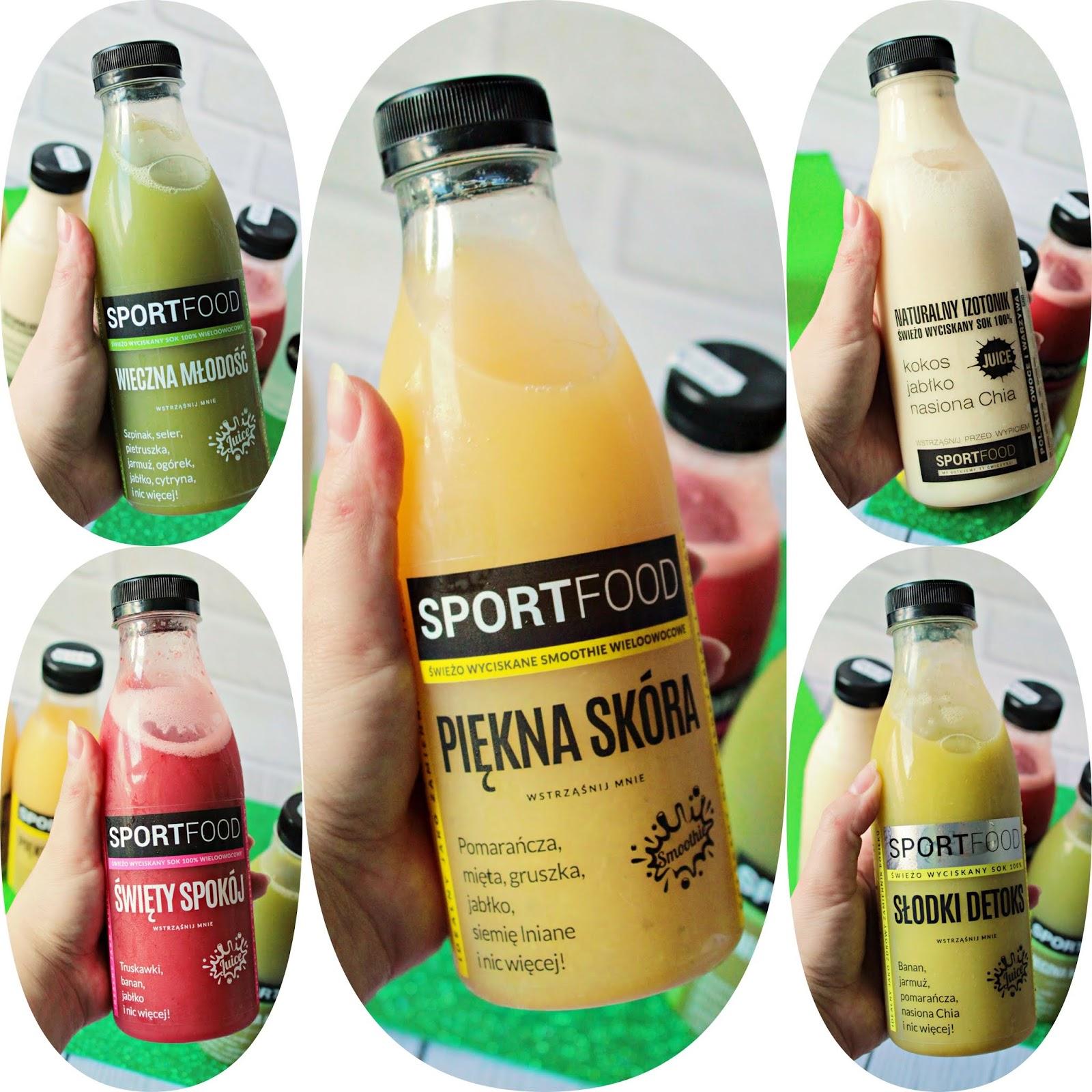 SPORTFOOD Soki - 3-dniowa dieta oczyszczająca