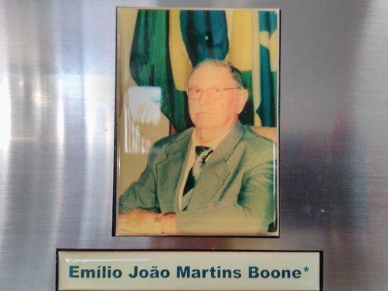 ex-vereador Emílio João Martins Boone pioneiro em Espigão do Oeste assumiu na 3ª legislatura de 1994 a 1996 no mandato do ex-prefeito Regi
